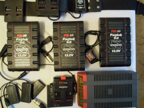 PAGLOK 5.0 DIGITAL BELT SYSTEM RTI 13.2V WITH AR304 FAST CHARGER